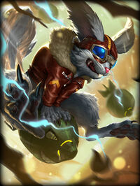 Ratatoskr SquirrelSquad Card