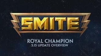 SMITE - 5.15 Update Overview - Royal Champion