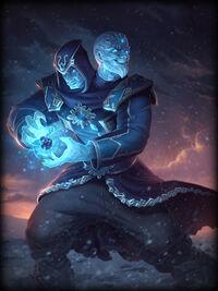 Agni ice-mage Card