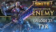 SMITE Know Your Enemy 27 - Tyr
