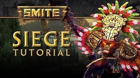 SMITE Tutorial - Siege