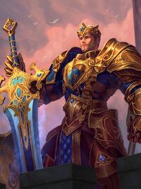 King Arthur golden Card