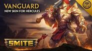 SMITE - New Skin for Hercules - Vanguard
