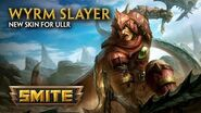 SMITE - New Skin for Ullr - Wyrm Slayer