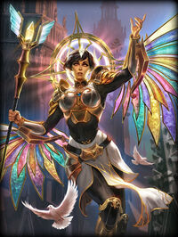 Isis Celestial Card