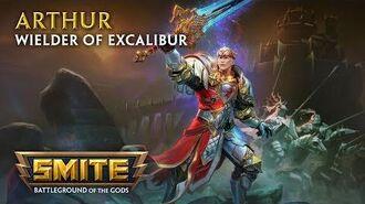SMITE - God Reveal - Arthur, Wielder of Excalibur