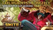 SMITE - New Skin for Sun Wukong - Earl Wubert St