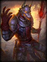 Anubis JackalKnight Card
