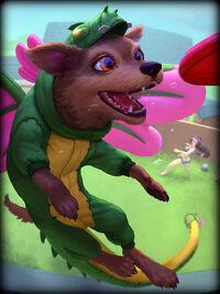Kukulkan dragon-doggo Card