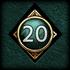 Achievements GodMastery 20