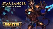 SMITE - New Skin for Anhur - Star Lancer