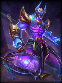 Anubis cosmic-power Card
