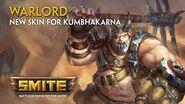 SMITE - New Skin for Kumbhakarna - Warlord