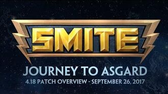 SMITE - 4.18 Patch Overview - Journey to Asgard (September 26, 2017)