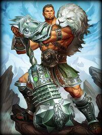 Hercules LionofOlympus Card