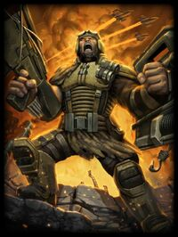 Ares Mercenary Card