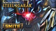 SMITE - New Skin for Khepri - Steel Scarab