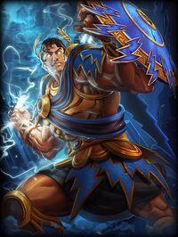 Zeus Almighty Card