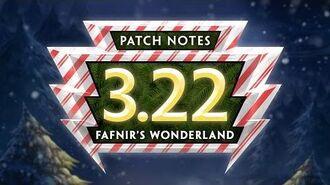 SMITE Patch Notes VOD - Fafnir's Wonderland (Patch 3.22)