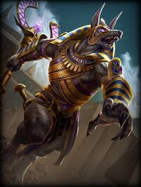 Anubis Afterlife Card