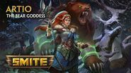 SMITE - God Reveal - Artio, The Bear Goddess