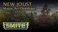 SMITE New Joust Art