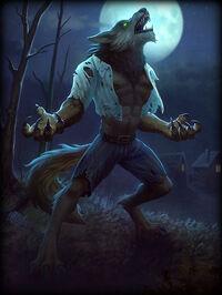 Fenrir Wolfman Card