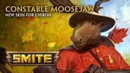 SMITE - New Skin for Chiron - Constable Moosejaw