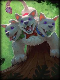 Cerberus pup-patrol Card