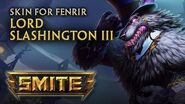 New Fenrir Skin Lord Slashington III