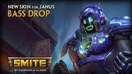 SMITE New Skin for Janus - Ba5s Drop