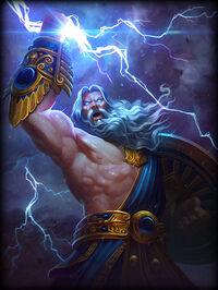 Zeus Golden Card