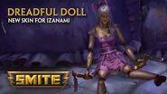 SMITE - New Skin for Izanami - Dreadful Doll