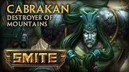 SMITE - God Reveal - Cabrakan, Destroyer of Mountains