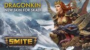 SMITE - New Skin for Skadi - Dragonkin