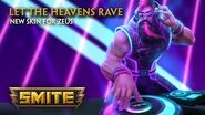 SMITE - New Skin for Zeus - Let the Heavens Rave