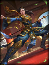 Mulan golden Card