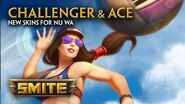 SMITE - New Skins for Nu Wa - Challenger & Ace