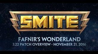 SMITE - 3.22 Patch Overview - Fafnir's Wonderland (November 21, 2016)