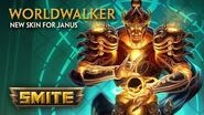 SMITE - New Skin for Janus - Worldwalker
