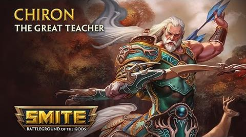 SMITE - God Reveal - Chiron, The Great Teacher