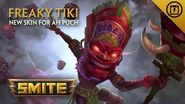 SMITE - New Skin for Ah Puch - Freaky Tiki