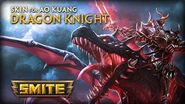 SMITE New Skin for Ao Kuang - Dragon Knight