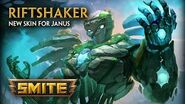 SMITE - New Skin for Janus - Riftshaker