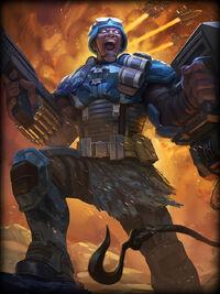 Ares hired-gun Card