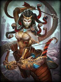 Medusa BlackGorgo Card