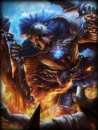 Ares Destroyer Card