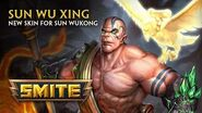 SMITE - New Skin for Sun Wukong - Sun Wu Xing