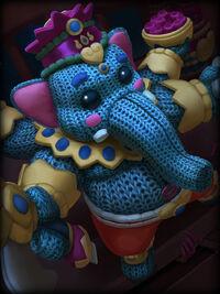 Ganesha plushie Card