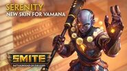 SMITE - New Skin for Vamana - Serenity